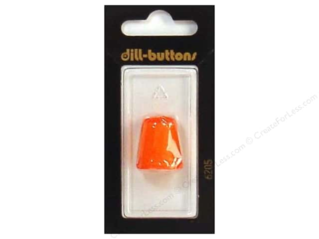 Dill Jelly Fingers Thimble 18 mm Orange