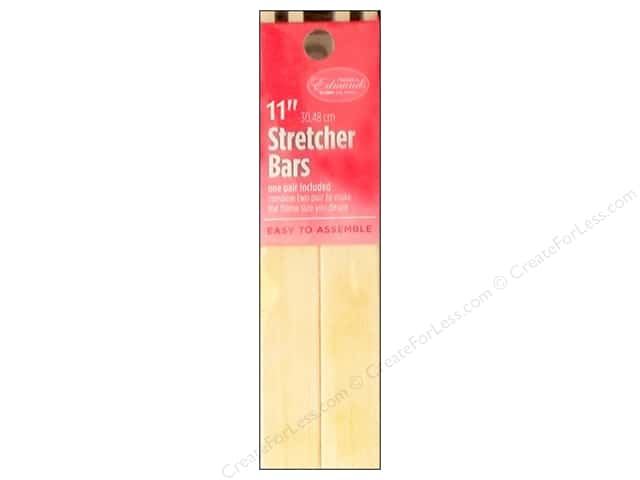 F. A. Edmunds Stretcher Bars 11 in. 2 pc.