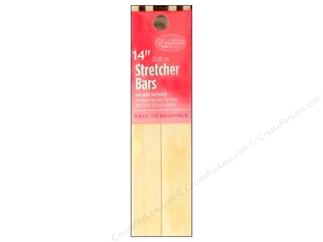 F. A. Edmunds Stretcher Bars 14 in. 2 pc.