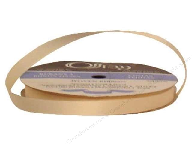 Offray Grosgrain Ribbon 3/8 in. x 20 yd. Cream (20 yards)