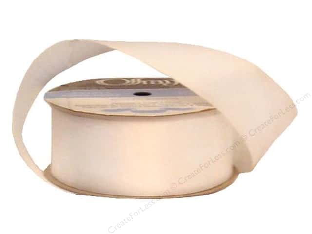 Offray Double Face Satin Ribbon 1 1/2 in. x 10 yd. White (10 yards)