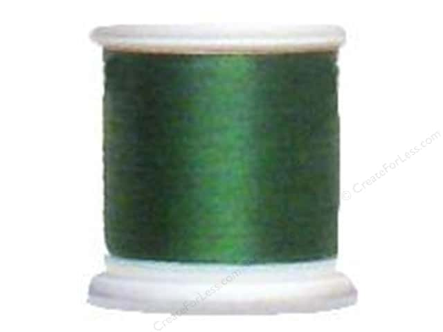 YLI Silk Thread 100 wt. 220 yd. #221 Forest Green