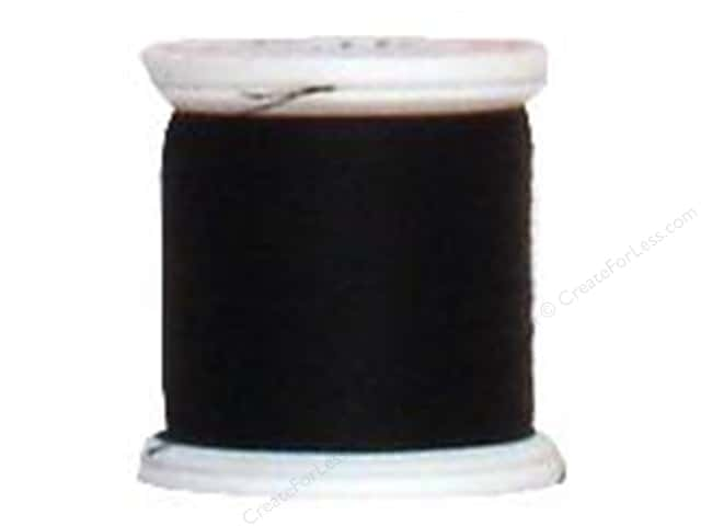 YLI Silk Thread 100 wt. 220 yd. #BLK Black