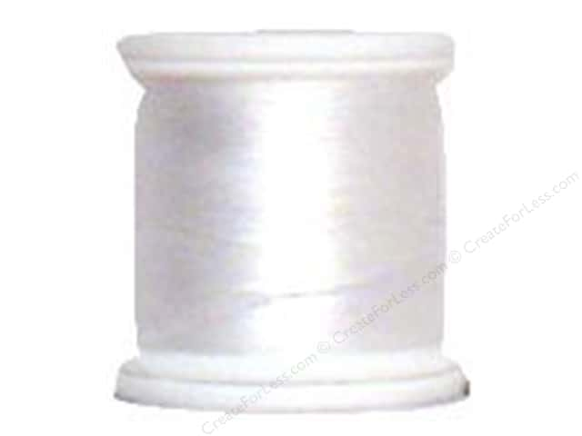 YLI Silk Thread 100 wt. 220 yd. #WHT White