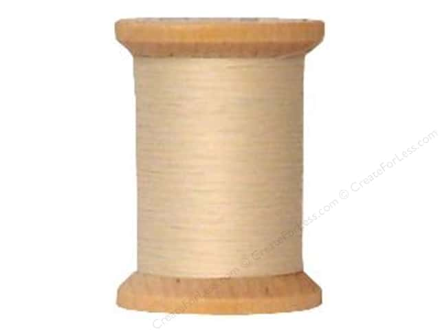 YLI Cotton Quilting Thread 400 yd. #001 Natural