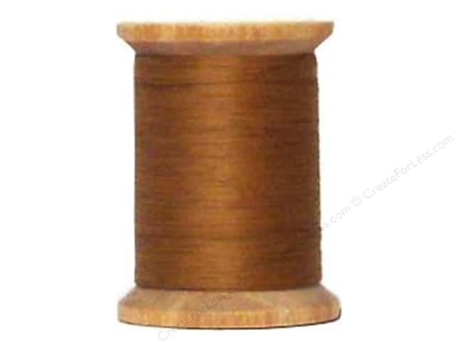 YLI Cotton Quilting Thread 400 yd. #003 Light Brown