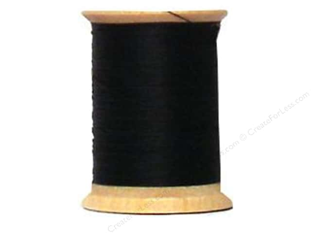 YLI Cotton Quilting Thread 400 yd. #BLK Black