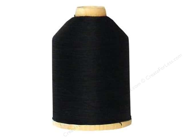YLI 100% Cotton Quilting Thread 1000 yd. #BLK Black