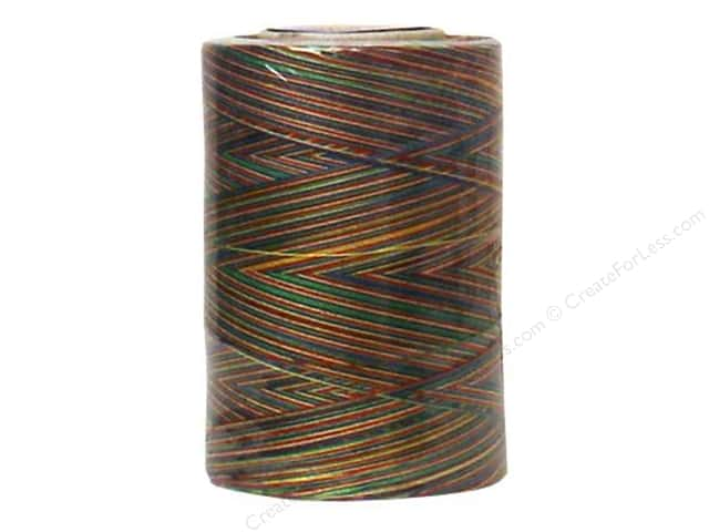 Coats & Clark Star Variegated Mercerized Cotton Quilting Thread 1200 yd. #889 Mexicana