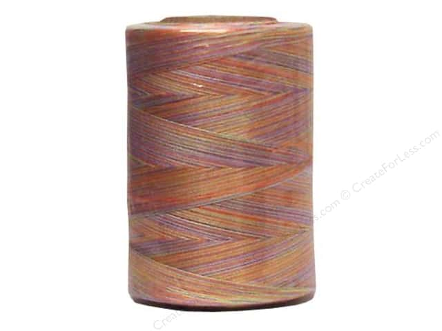 Coats & Clark Star Variegated Mercerized Cotton Quilting Thread 1200 yd. #882 Sherbet