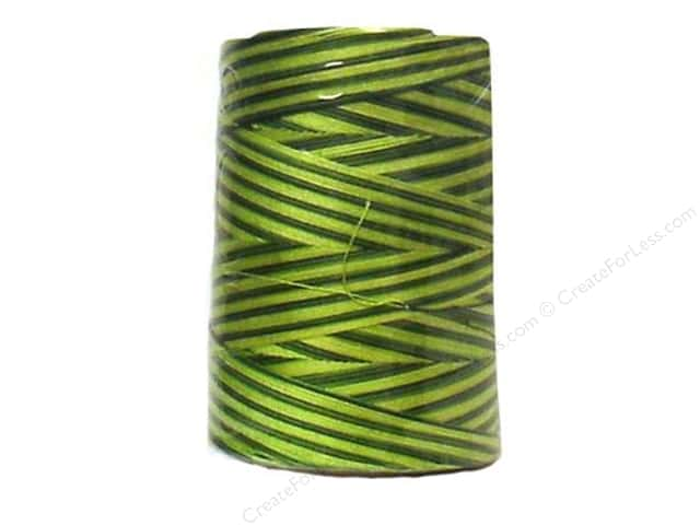 Coats & Clark Star Variegated Mercerized Cotton Quilting Thread 1200 yd. #855 Spring Greens
