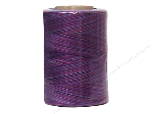 Coats & Clark Star Variegated Mercerized Cotton Quilting Thread 1200 yd. #810 Plum Shadows