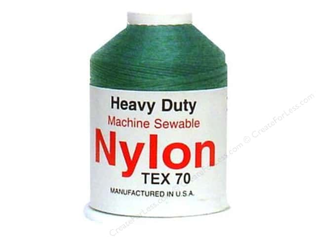 Super Tuff Nylon Upholstery Thread 300 yd. Forest Green