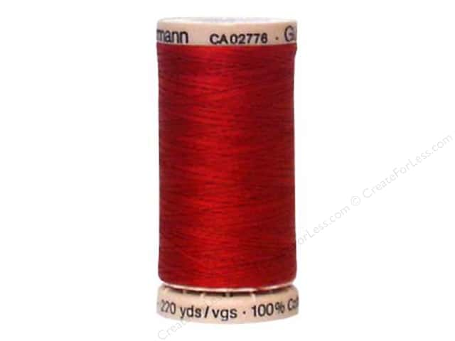 Gutermann Hand Quilting Thread 220 yd. #2453 Cranberry