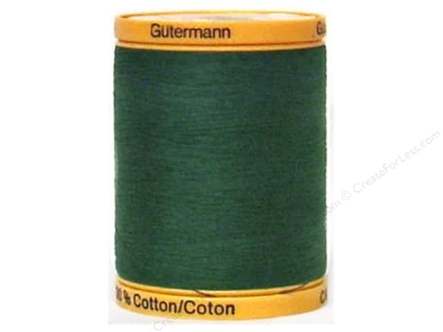 Gutermann 100% Natural Cotton Sewing Thread 875 yd. #8113 Hunter