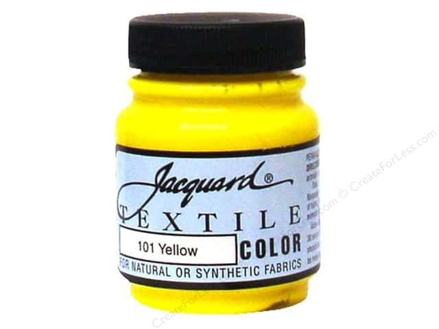 Jacquard Textile Color 2.25 oz. Yellow