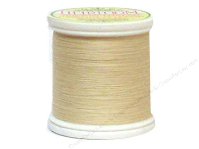 YLI Heirloom Cotton Thread 100/2 200yd Light Natural