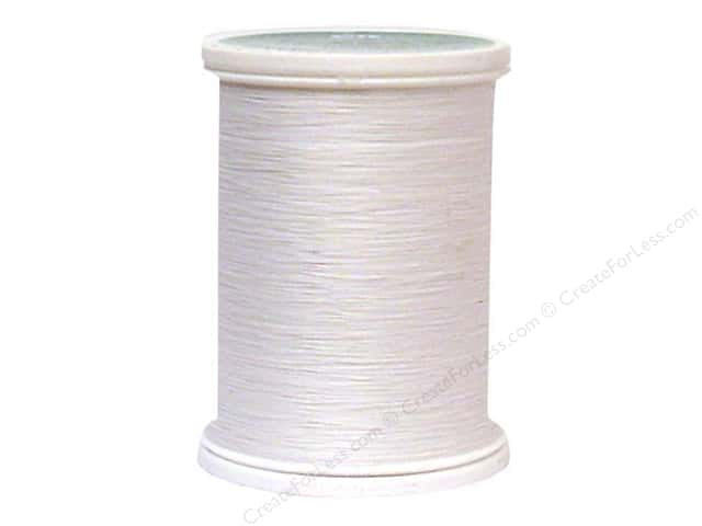 YLI Select Cotton Thread 40wt 1000yd White
