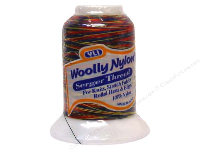 YLI Woolly Nylon Serger Thread 1094 yd. #98 Variegated Primary
