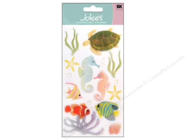 Jolee's Vellum Stickers Sea Horses