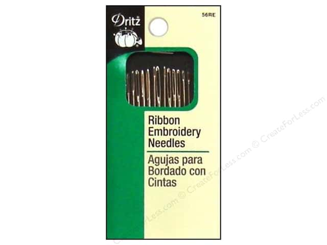 Dritz Ribbon Embroidery Needles 14 pc.