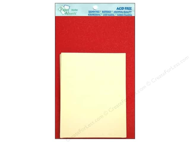 4 1/4 x 5 1/2 in. Blank Card & Envelopes by Paper Accents 10 pc. Pearlized Red