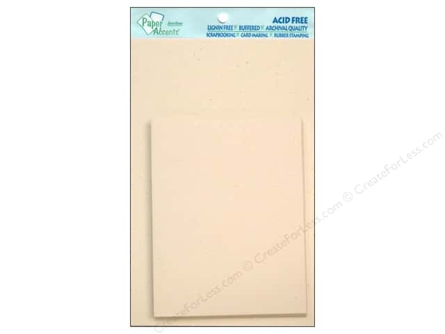 4 1/4 x 5 1/2 in. Blank Card & Envelopes by Paper Accents 10 pc. Recycled Birch