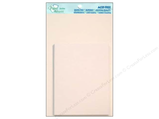 4 1/4 x 5 1/2 in. Blank Card & Envelopes by Paper Accents 10 pc. White