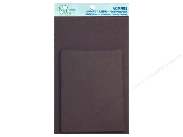 4 1/4 x 5 1/2 in. Blank Card & Envelopes by Paper Accents 10 pc. Black
