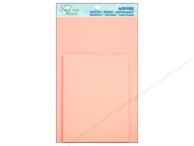 4 1/4 x 5 1/2 in. Blank Card & Envelopes by Paper Accents 10 pc. Light Pink