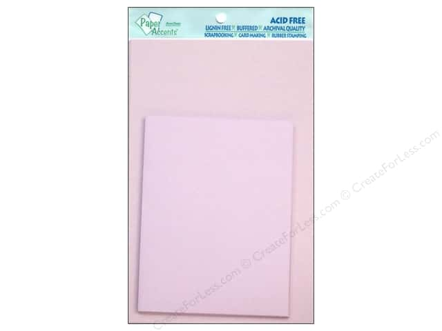4 1/4 x 5 1/2 in. Blank Card & Envelopes by Paper Accents 10 pc. Lavender