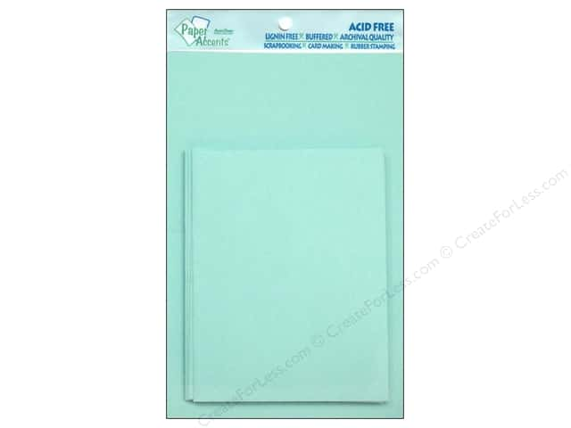 4 1/4 x 5 1/2 in. Blank Card & Envelopes by Paper Accents 10 pc. Light Blue