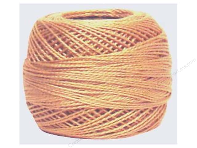 DMC Pearl Cotton Ball Size 8 #437 Light Tan (10 balls)