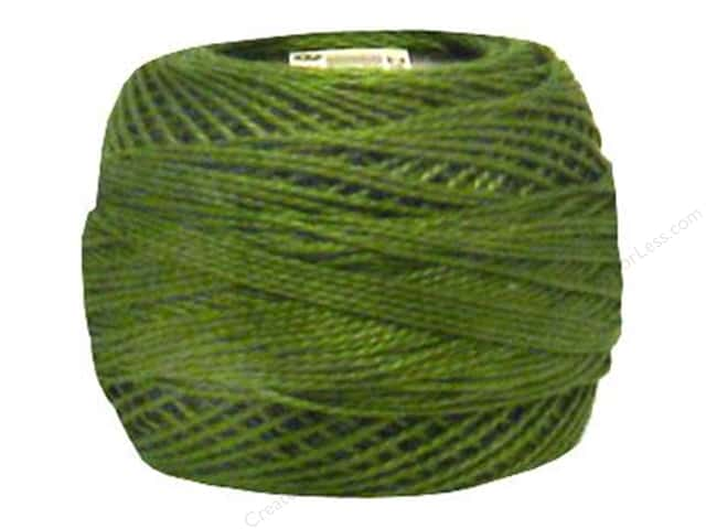 DMC Pearl Cotton Ball Size 8 #469 Avocado Green (10 balls)