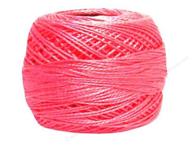DMC Pearl Cotton Ball Size 8 #603 Cranberry (10 balls)