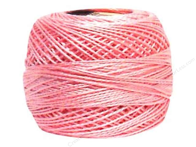 DMC Pearl Cotton Ball Size 8 #605 Very Light Cranberry (10 balls)