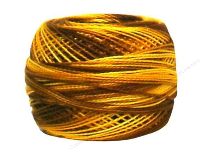 DMC Pearl Cotton Ball Size 8 #0111 Variegated Mustard