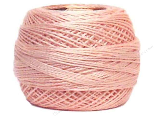 DMC Pearl Cotton Ball Size 8 #225 Pale Shell Pink (10 balls)