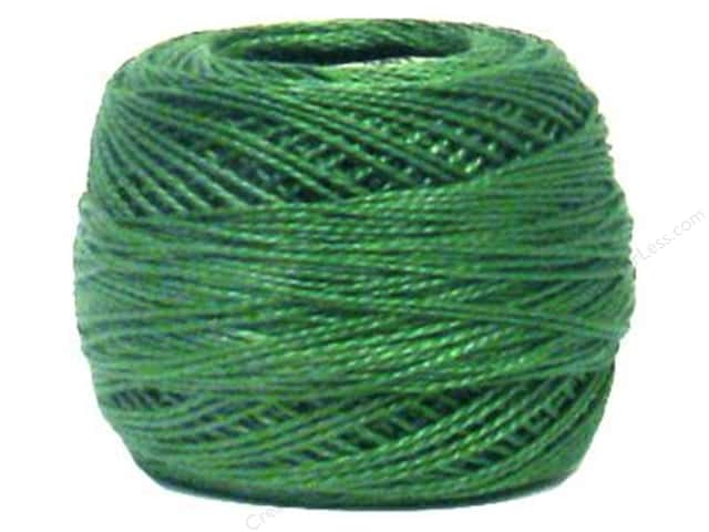 DMC Pearl Cotton Ball Size 8 #367 Dark Pistachio Green (10 balls)