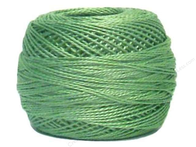 DMC Pearl Cotton Ball Size 8 #0368 Light Pistachio Green