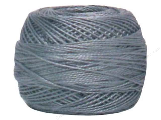 DMC Pearl Cotton Ball Size 8 #414 Lead Grey (10 balls)
