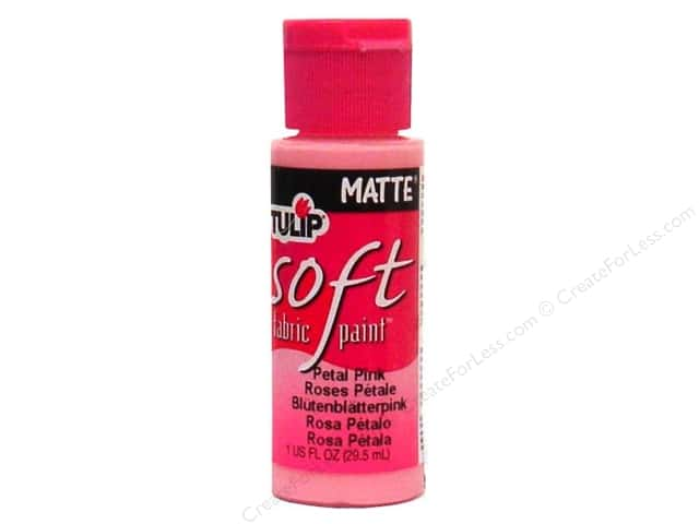 Tulip Soft Fabric Paint 1oz Matte Petal Pink