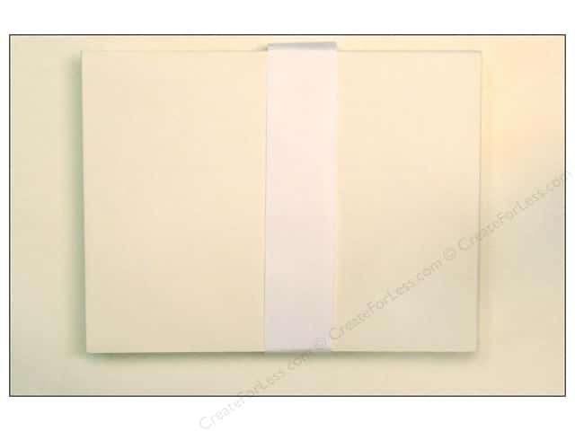 Paper Accents 4 1/4 x 5 1/2 in. Blank Card & Envelopes 50 pc. Cream