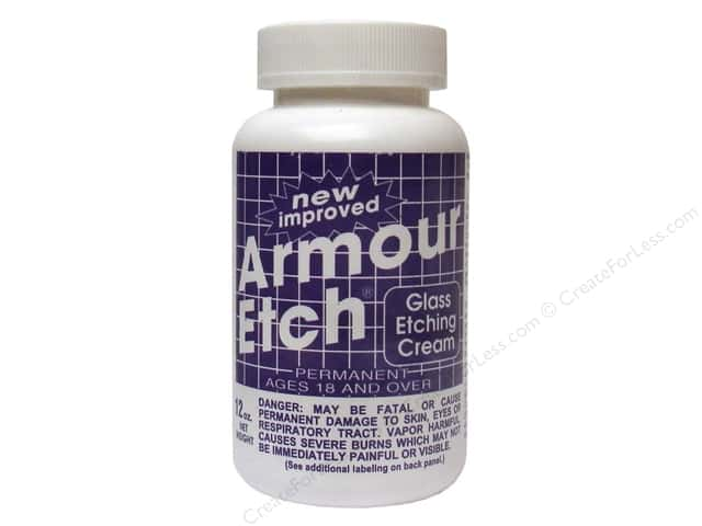 Armour Etch Glass Etching Cream 10 oz.