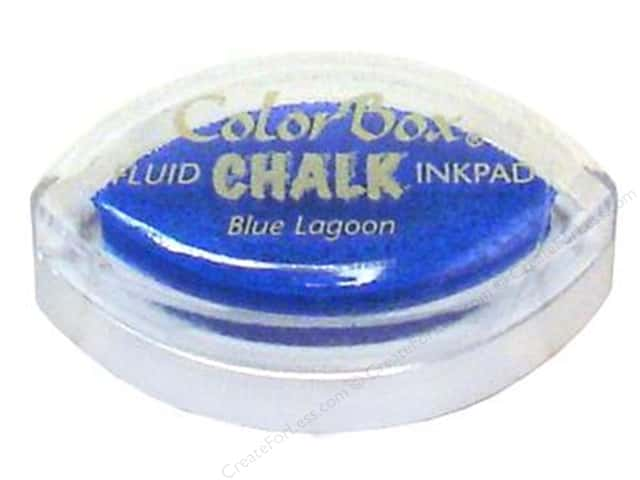 ColorBox Fluid Chalk Ink Pad Cat's Eye Blue Lagoon
