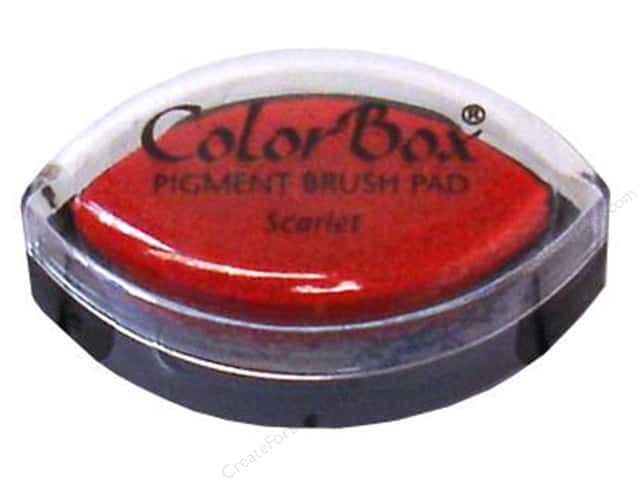 Colorbox Cat's Eye Pigment Inkpad Scarlet