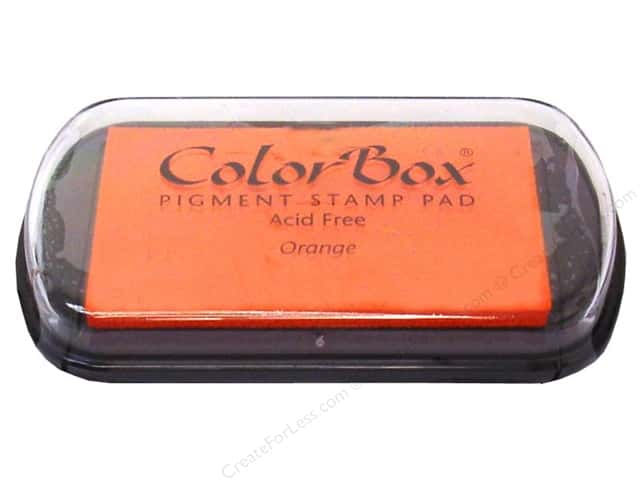 Colorbox Full Size Pigment Inkpad Orange
