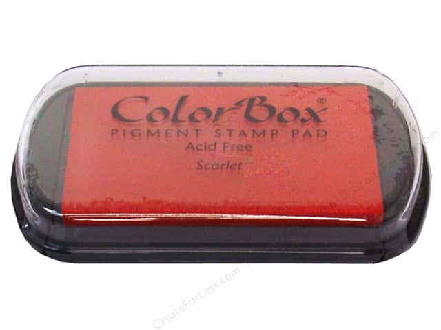Colorbox Full Size Pigment Inkpad Scarlet