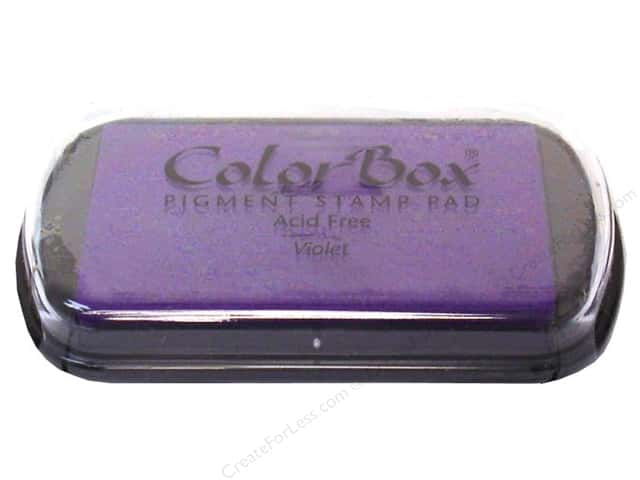 ColorBox Pigment Ink Pad Full Size Violet