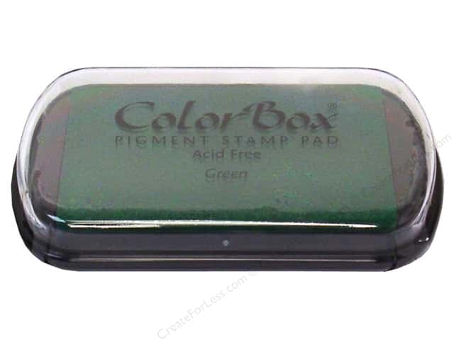 Colorbox Full Size Pigment Inkpad Green